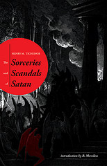 Sorceries and Scandals of Satan - cover work